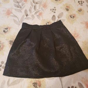 Divided Mini Skirt
